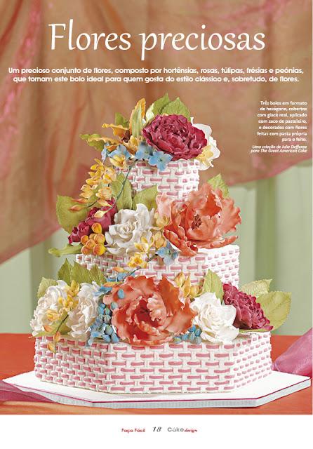 EAT MORE CAKE: Flores preciosas