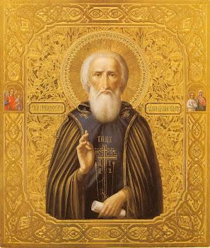 Cu bucurie sa-l laudam pe Sfantul lui Dumnezeu Serghie de Radonej praznuit pe 25 septembrie