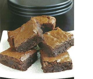 recetas de brownie de nueces y platano