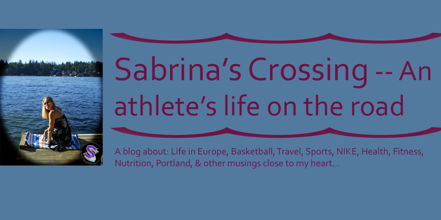 Sabrina's Crossing -- An athlete's life on the road