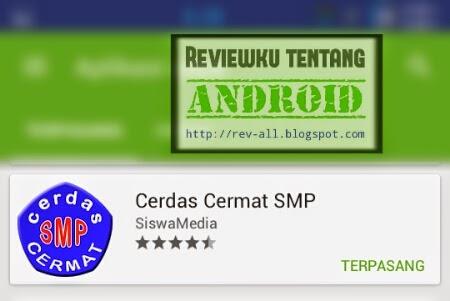 Ikon aplikasi Cerdas Cermat SMP - kui tes pengetahuan seluruh mata pelajaran di SMP (rev-all.blogspot.com)