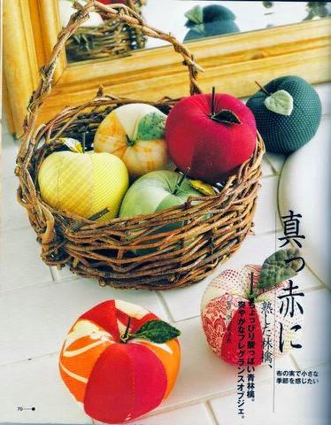 Muitos moldes de frutas e legumes