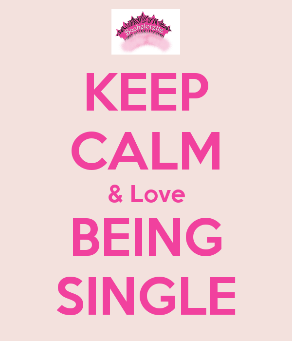 Why being single is good