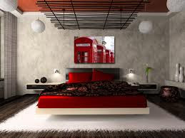 Red Bedrooms Decorating Ideas Pictures