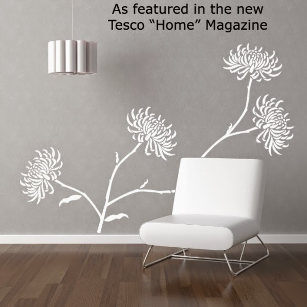 custom wall stencils uk