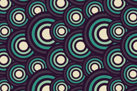 Steampunk funk retro pattern