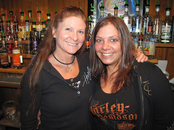 Tammy Bramhall with New Employee Samantha at Rocky's in Glenfield