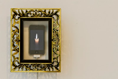 Swifter Than Light, iPod, Frame, installation view, 2011