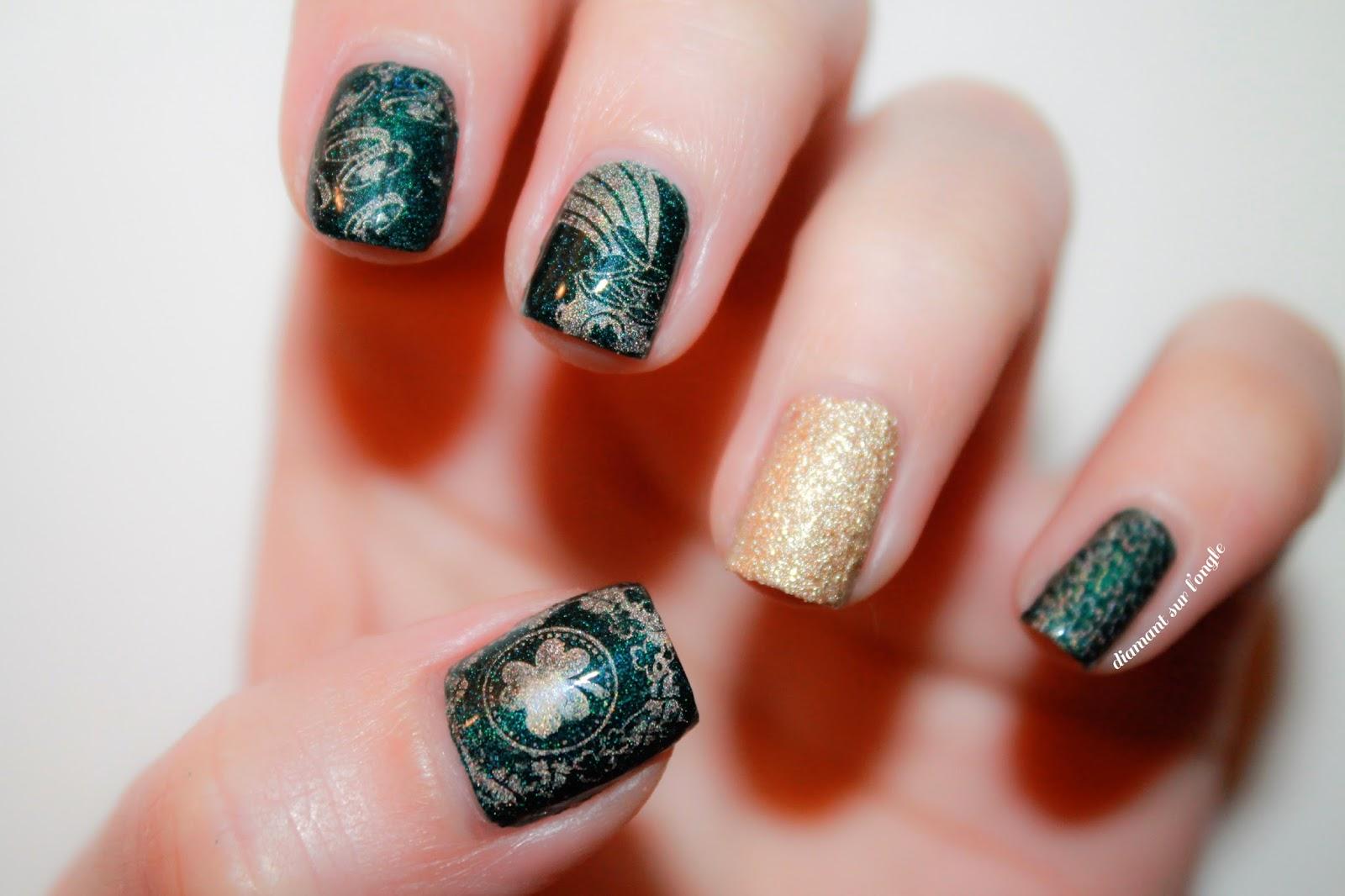 Saint-Patrick's Day Nail Art