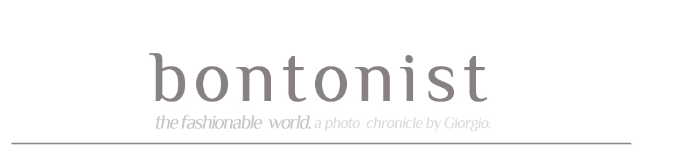 bontonist. a photo chronicle by Giorgio.