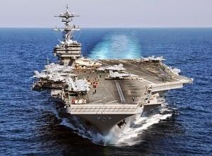 USS George HW Bush telah berada di Teluk