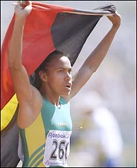 Cathy Freeman got away with it in Sydney, though.