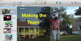 screen shot of Ibook