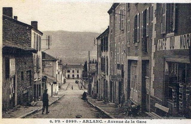 CPA Arlanc Puy-de-Dôme