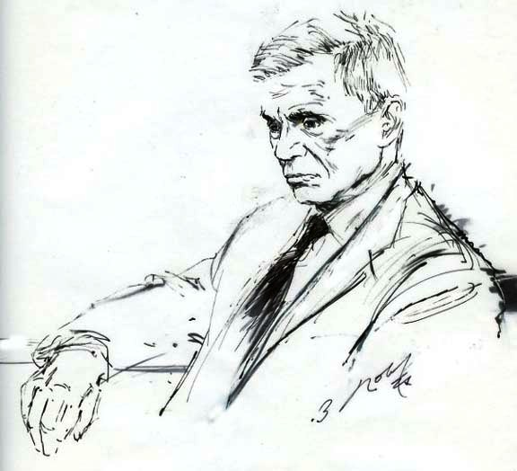 Illustrated Courtroom Robert Blake Then And Now