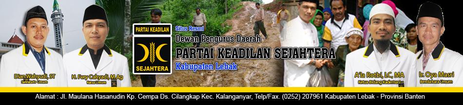 Partai Keadilan Sejahtera Kabupaten Lebak