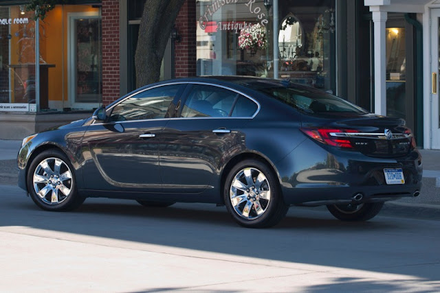 New 2015 Power Buick Regal Performance side view