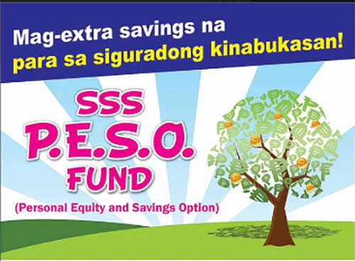 Start your SSS P.E.S.O Fund Account Today