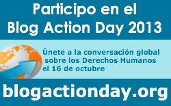 He participat al Blog Action Day