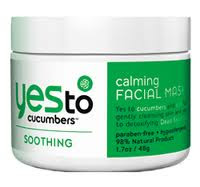 Yes To Cucumbers Face Mask