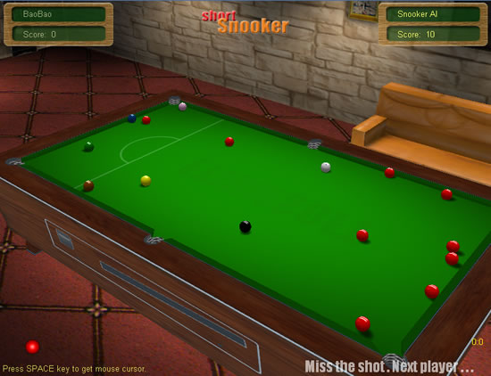 Snooker Live Pro Play online on GameDesire Genuine snooker rules