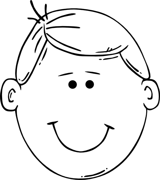 coloring pages childrens face - photo#20
