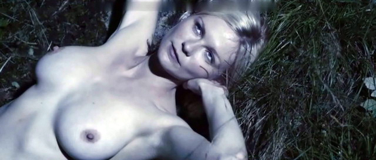 Kirsten Dunst Topless Big Boobs And Hard Nipple Caps From Melancholia