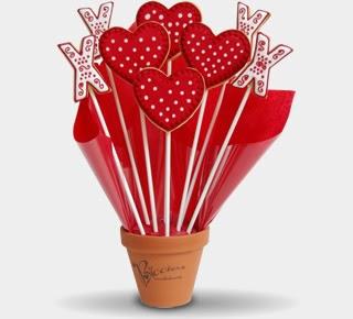San Valentin, Regalos Comestibles