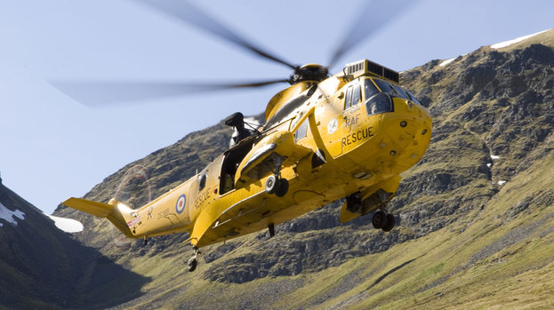 Sea King Helicopter Cairngorms