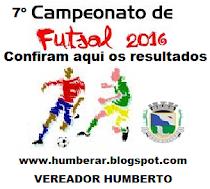 7º CAMP. REGIONAL FUTSAL 2016