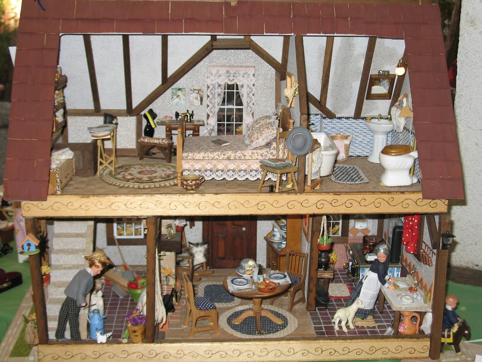 Vida em miniatura life in miniature - Casas americanas interior ...