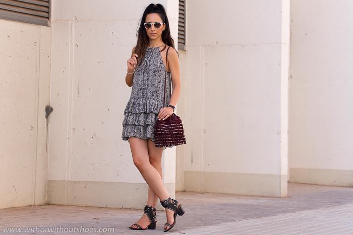 Blogger valenciana con sandalias Isabel Marant