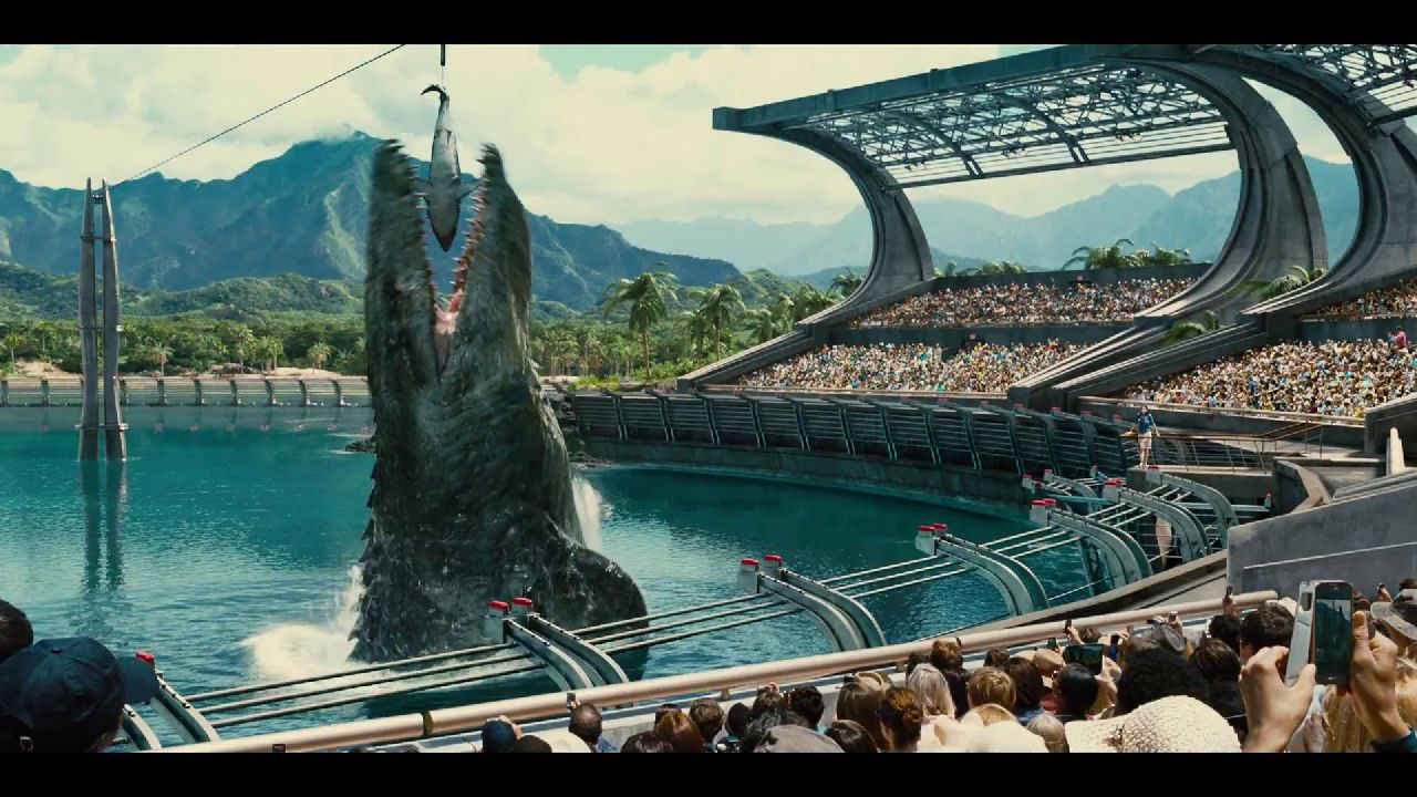 """Jurassic World"", resurrection"