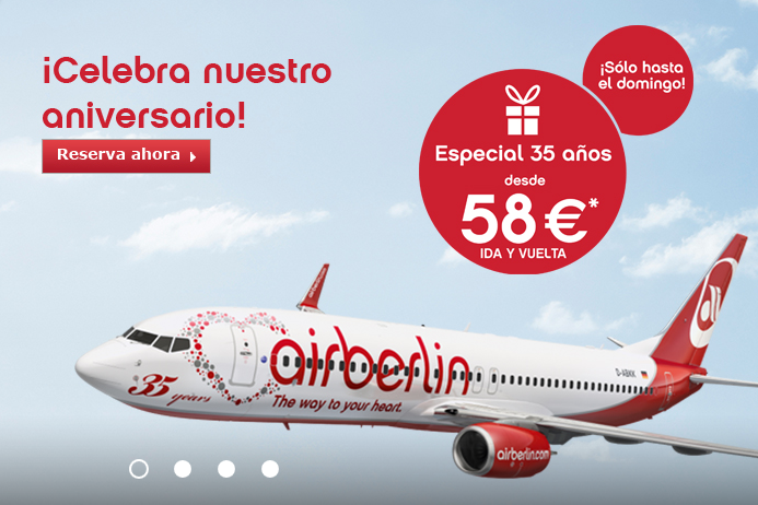 Air Berlin aniversario