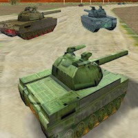 3D Tanks Racing, free Car Games