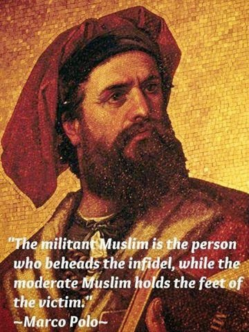 marco polo on Muslims