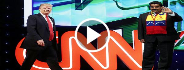 VÍDEO: Trump ratifica que la CNN si es un laboratorio de guerra psicológica que debe ser deteni