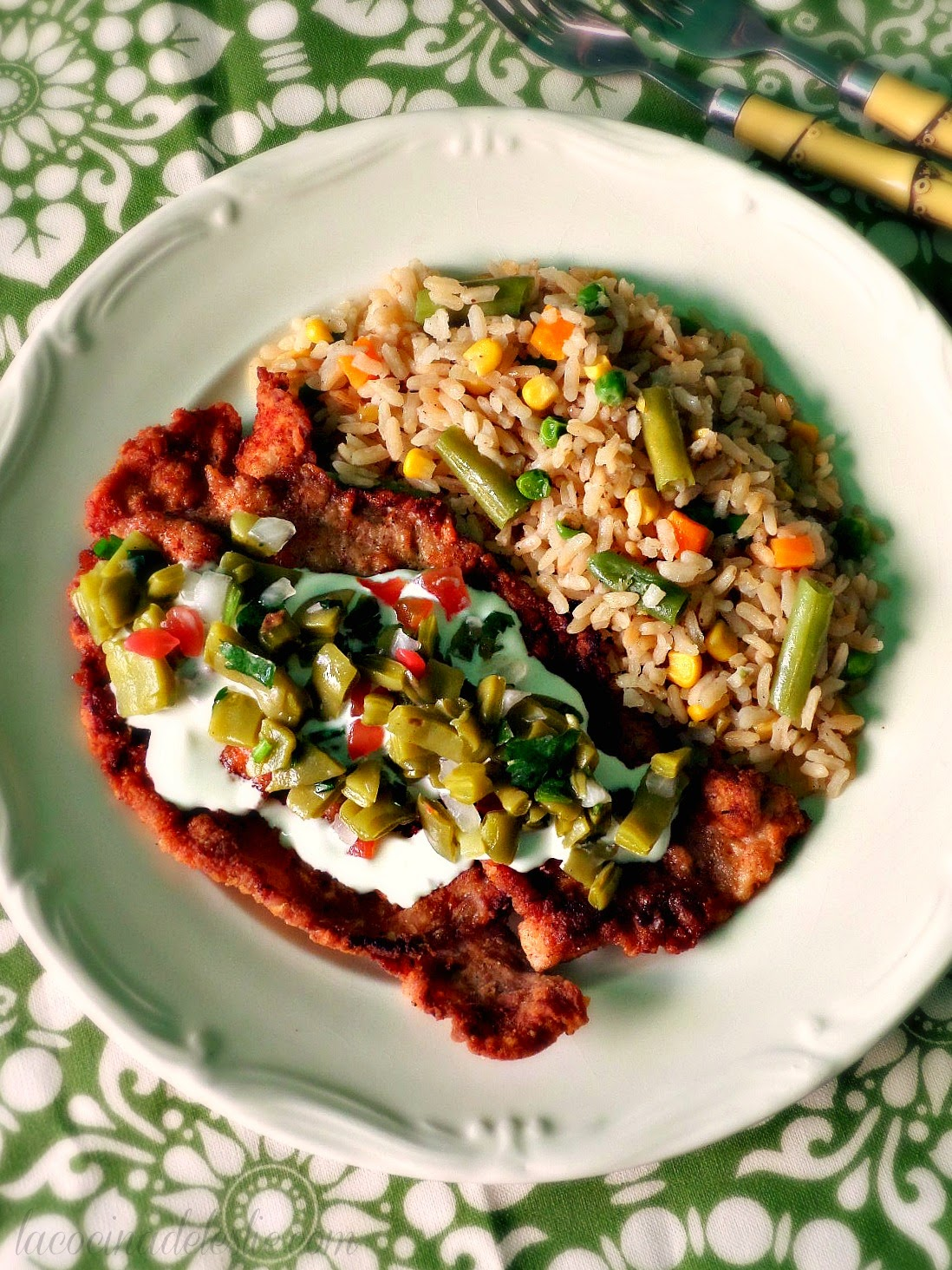 Spicy Pork Milanesas - lacocinadeleslie.com