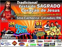 * Festa do Sagrado Coração de Jesus 2011/Cachoeira/Caraúbas.