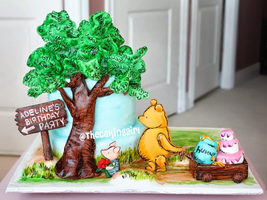 classic winnie the pooh cake