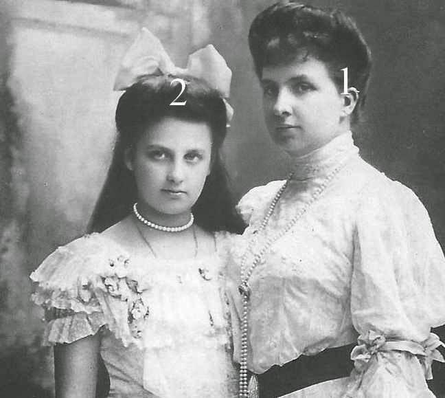 Archiduchesses Blanka et Immaculata d'Autriche