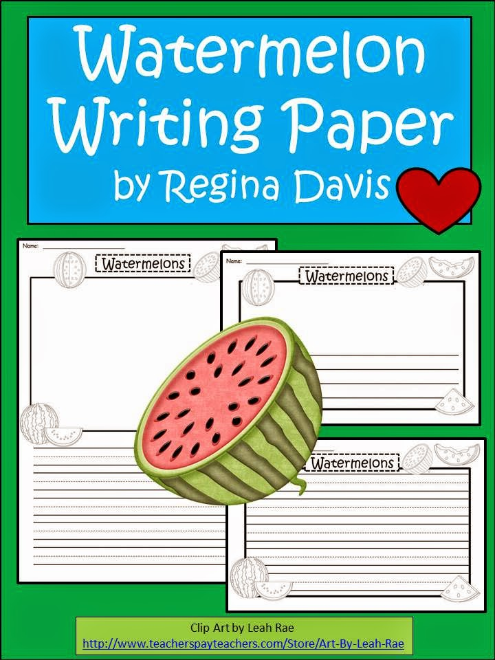 http://www.teacherspayteachers.com/Product/A-FLASH-FREEBIE-Watermelon-Writing-Paper-1254603