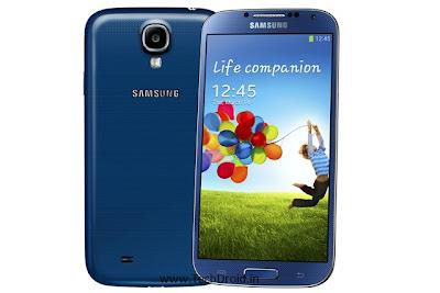 Blue Arctic Samsung Galaxy S4