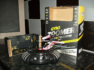 Gyro Zoomer Mini R/C Helicopter review