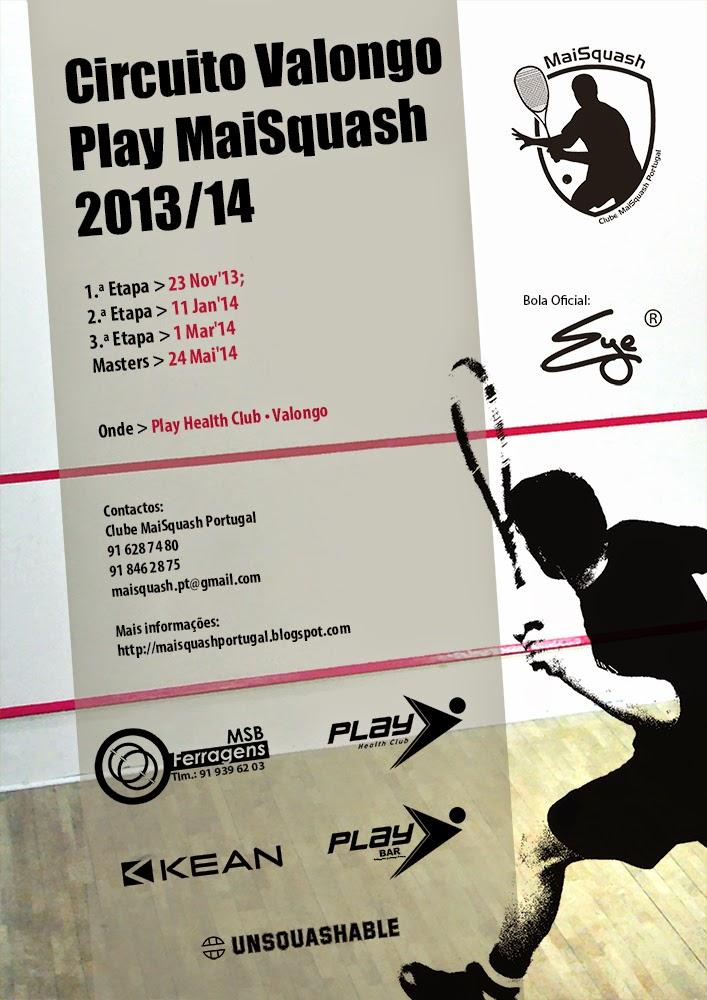 Circuito Valongo Play MaiSquash 2014/15