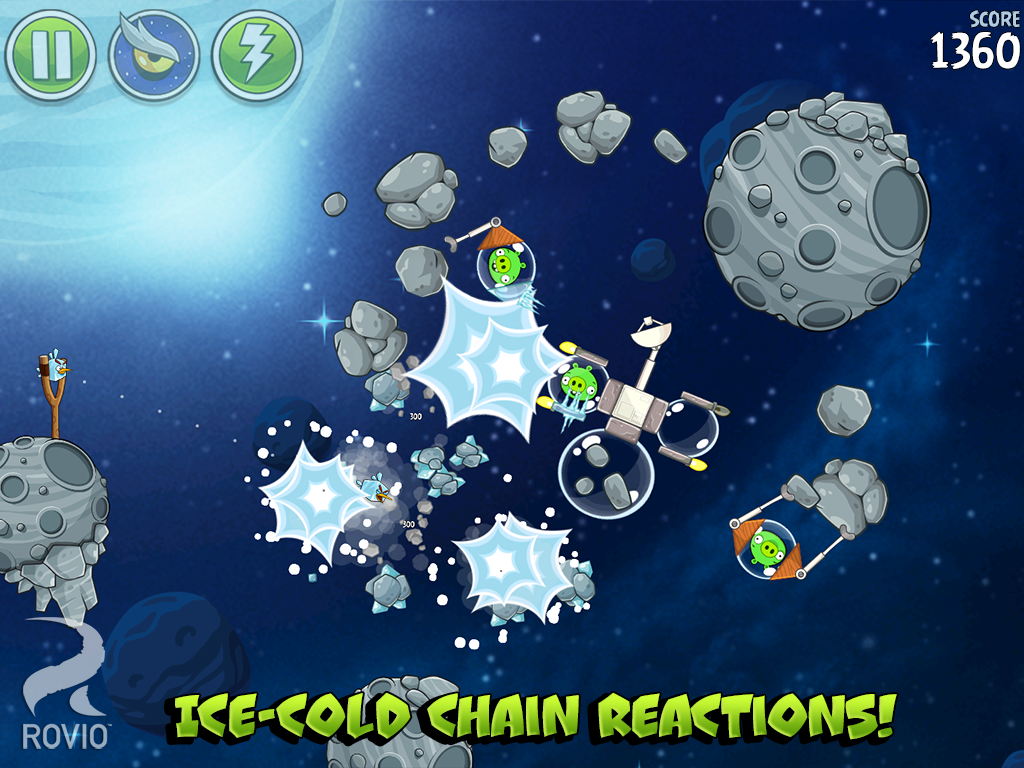 Games Angry Birds Space Android Apk Asik - 2