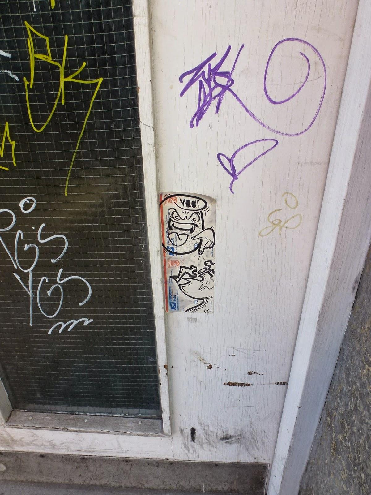 Sticker, Streetart, Graffiti