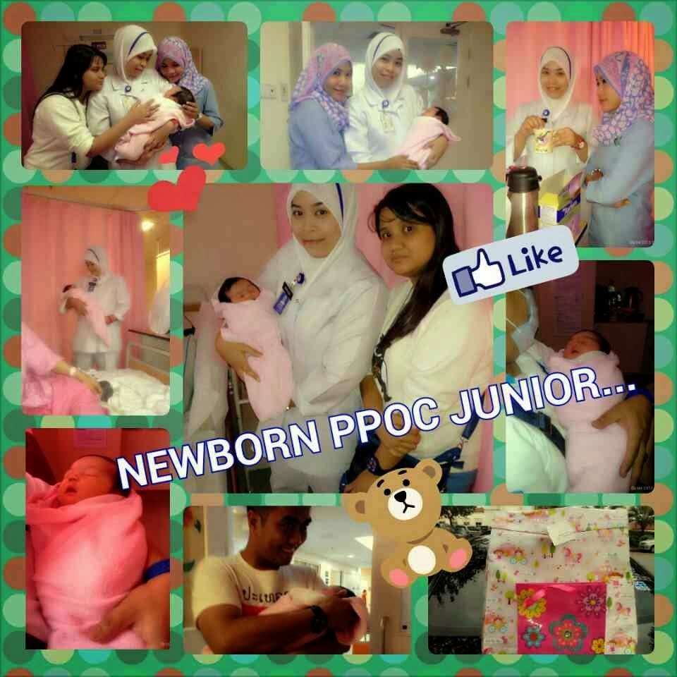 Best Moments... NEWBORN OF PPOC JUNIOR - PEKLI & BAIZURA