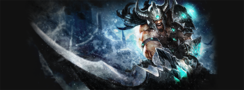 Tryndamere League of Legends Facebook Cover PHotos