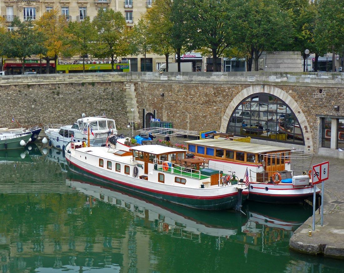 Living the life in saint aignan le port de l 39 arsenal - Port de l arsenal bastille ...